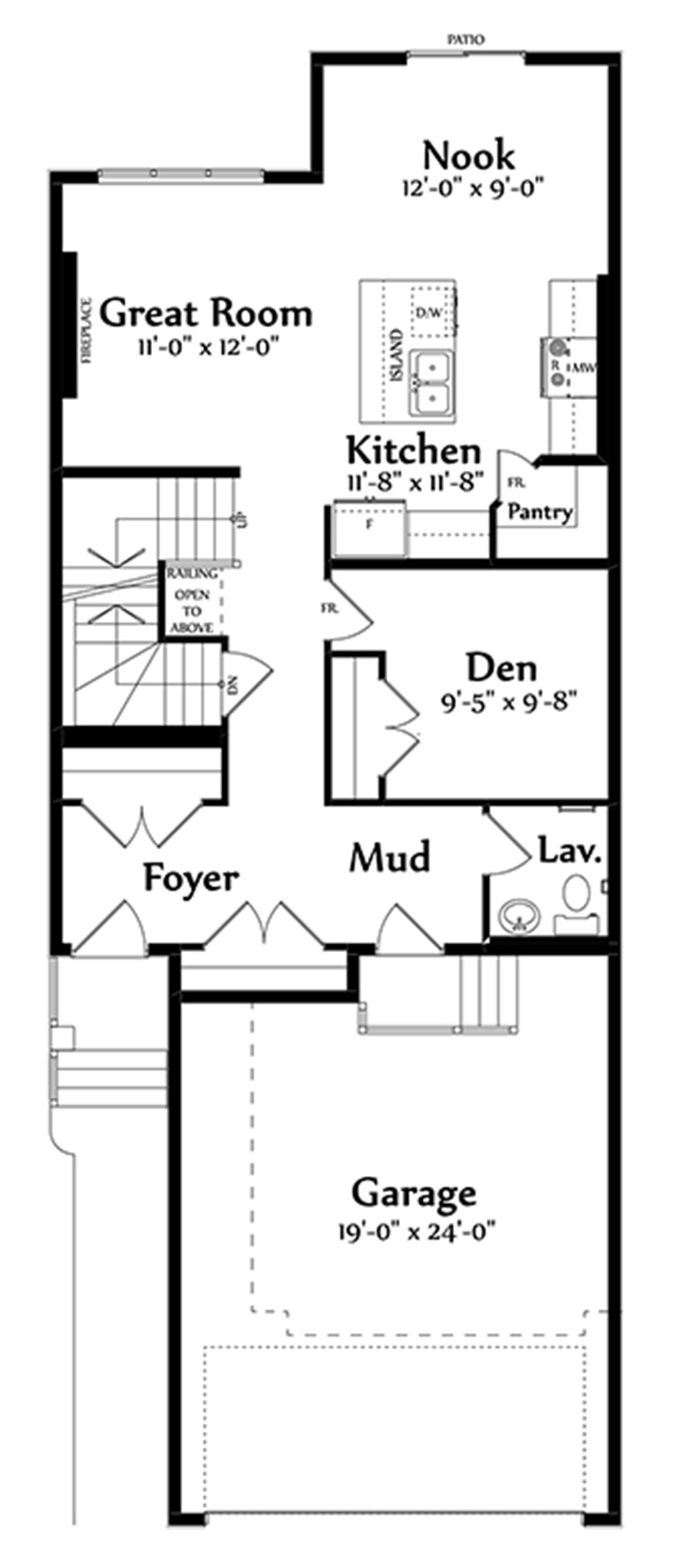 Alessio Main Floorplan 873