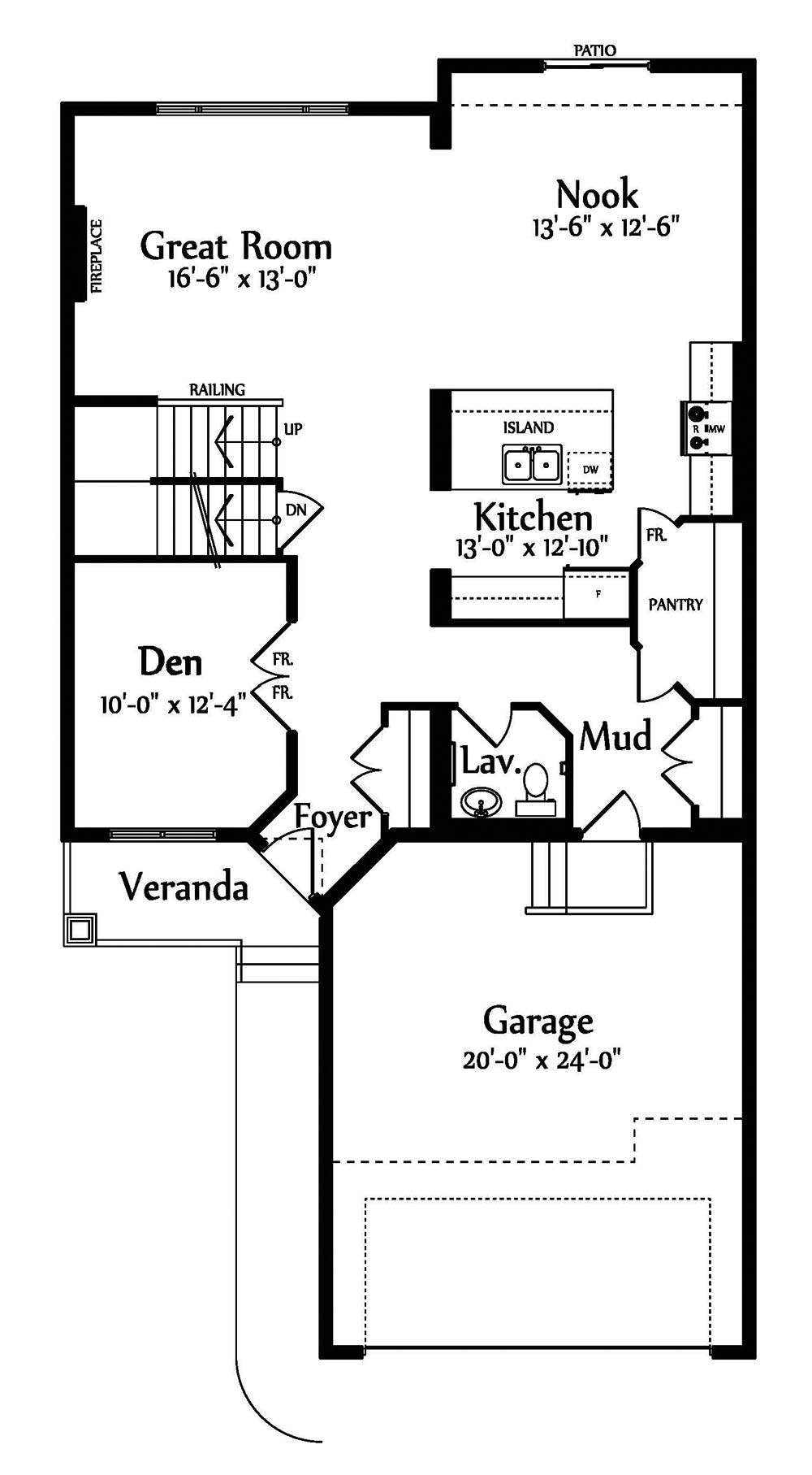 Alexandra Main floorplan 1139