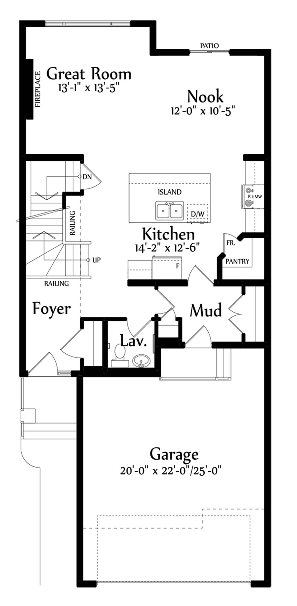 Anthony Main Floorplan 892