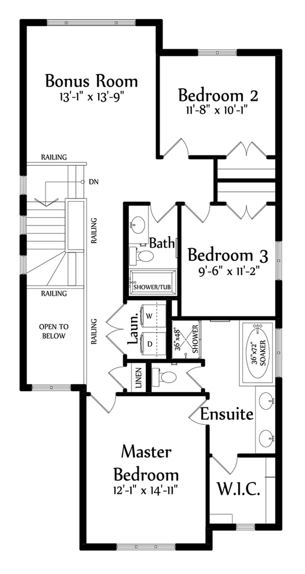 Anthony Second Floorplan 1093
