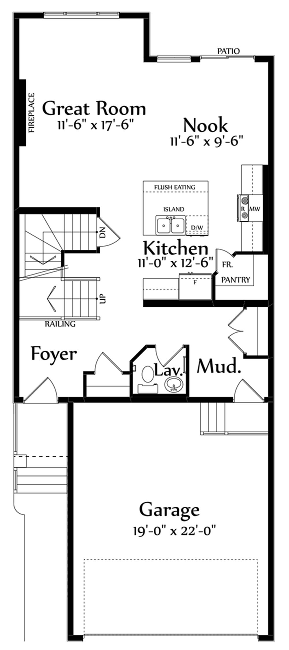 Christina Main Floorplan 818