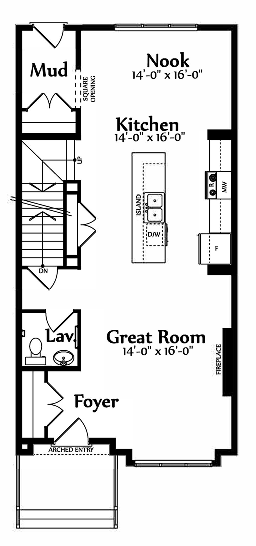 Emily Main Floorplan 708
