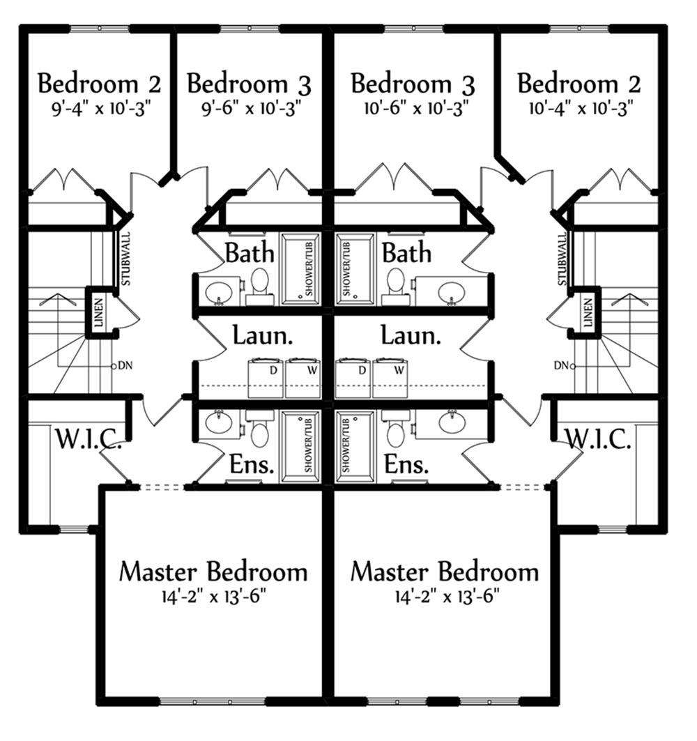 Emmerson B Second Floorplan 769 835