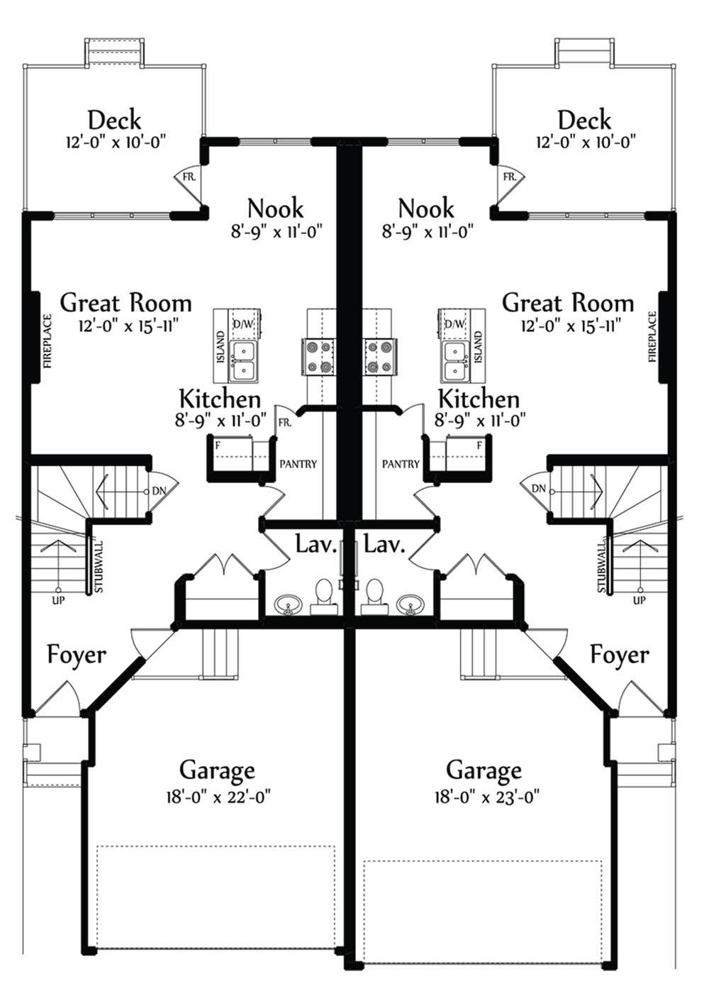 Grayson Main Floorplan 711