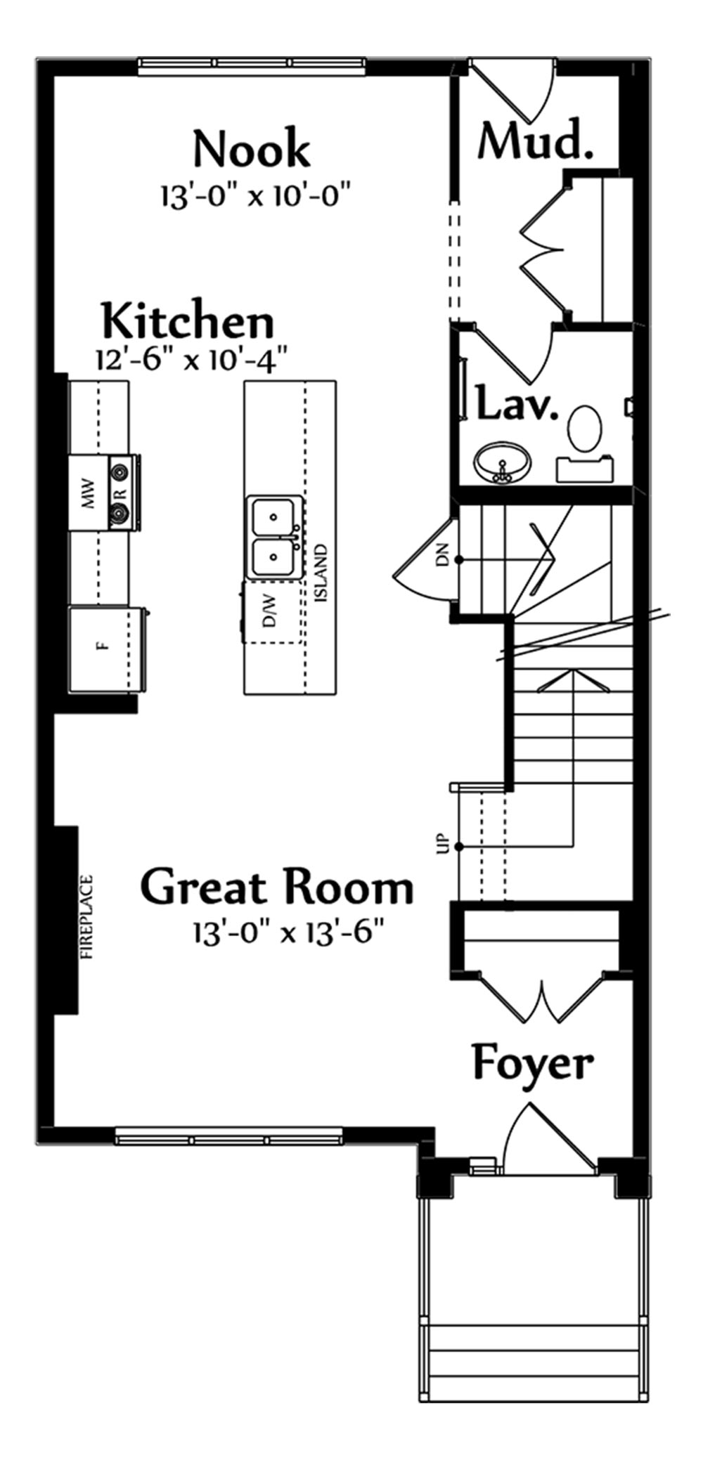 Jackson Main Floorplan 718