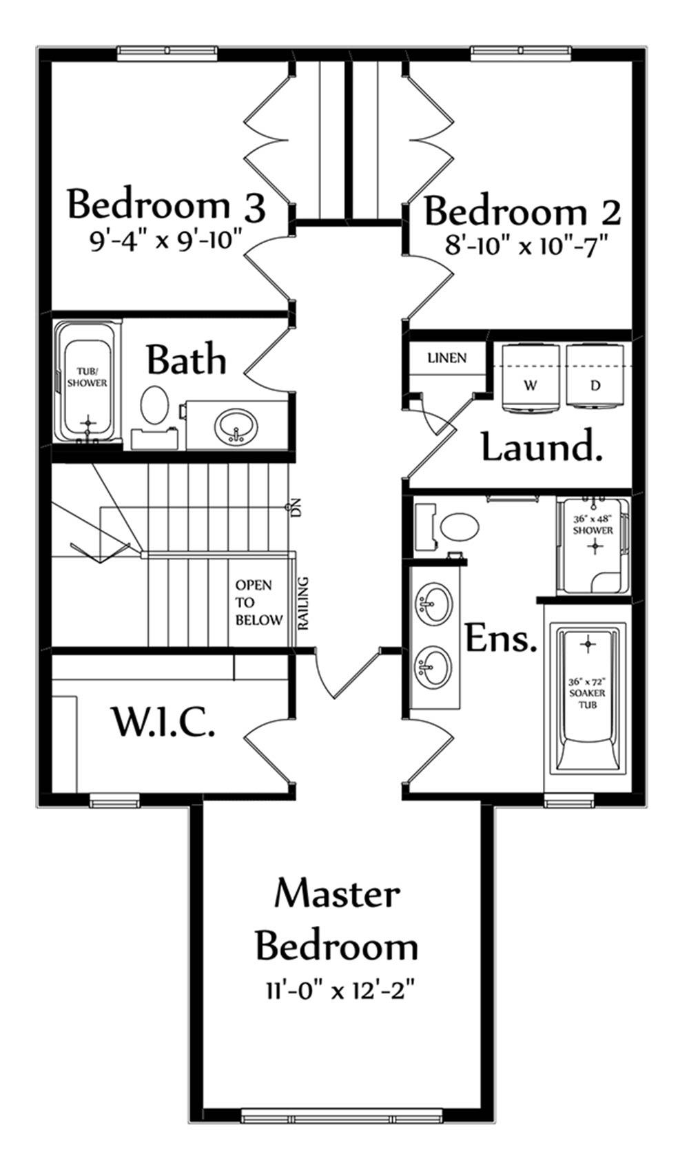 Jarron Second Floorplan 802