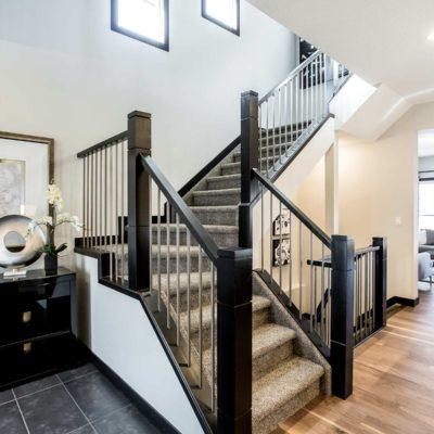 Joseph Front staircase hallway