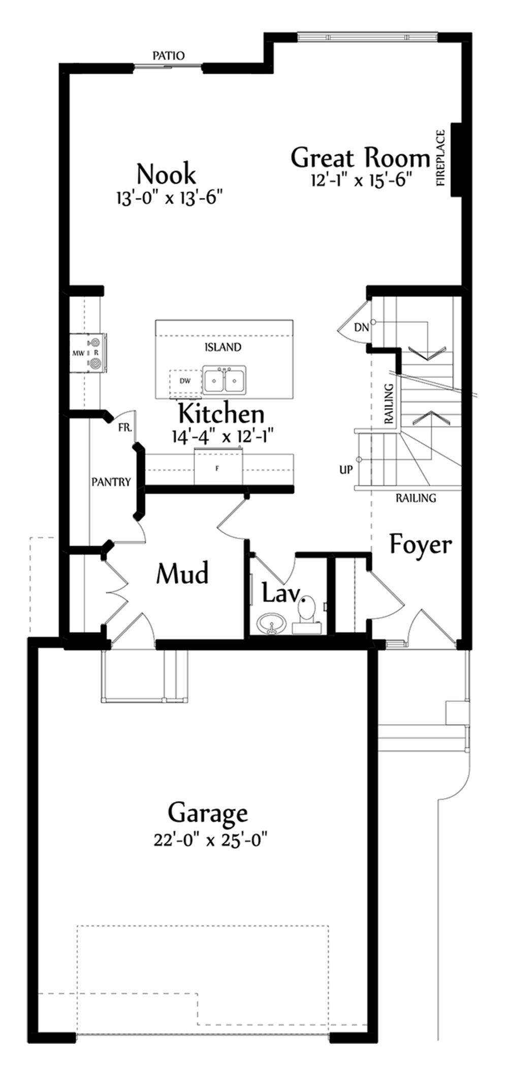 Joseph Main Floorplan 998