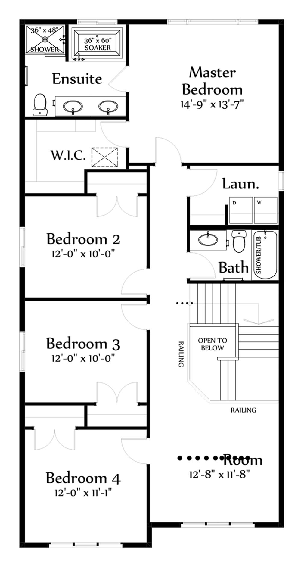 Karson Second Floorplan 1227