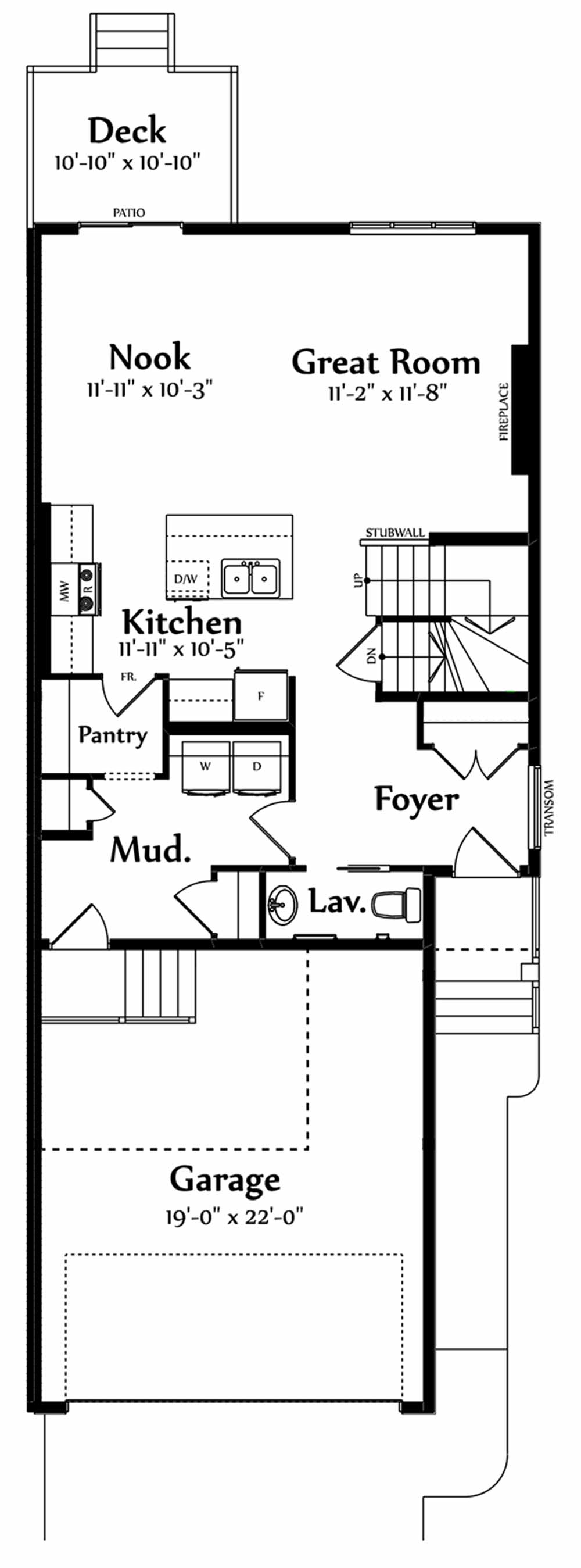 Lucas Main Floorplan 750
