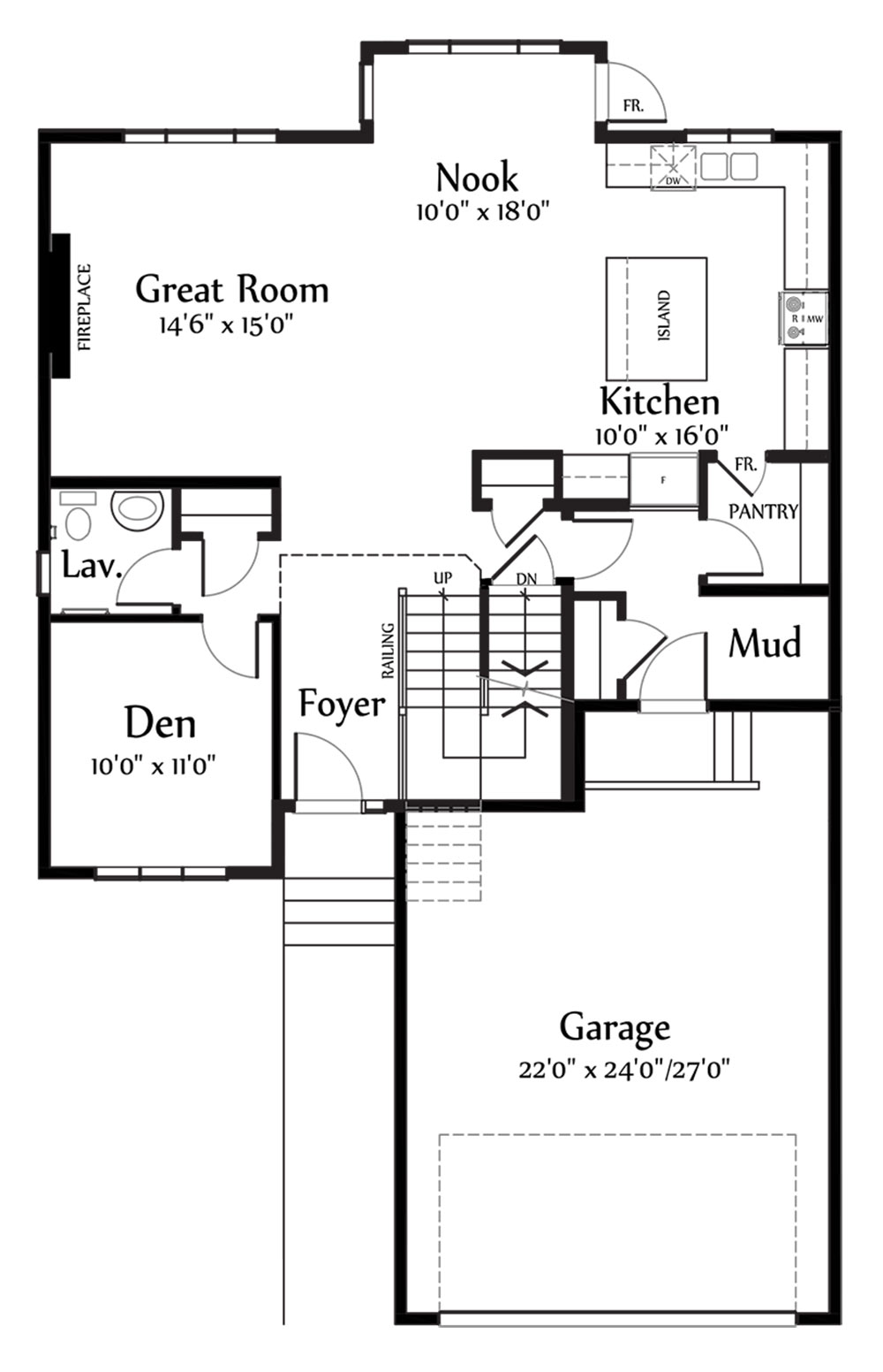 Nicholas II Main Floorplan 1134