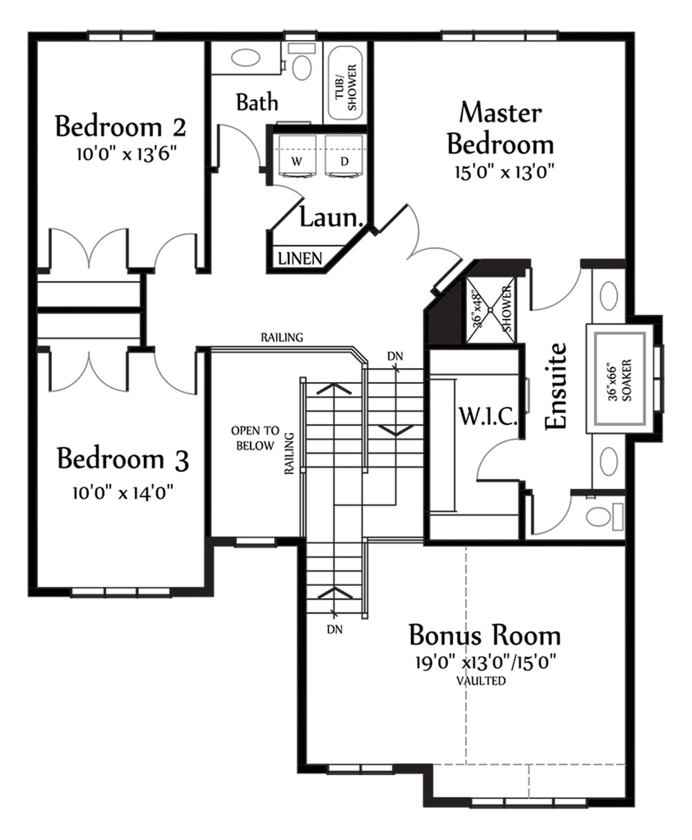 Nicholas II Second Floorplan 1274