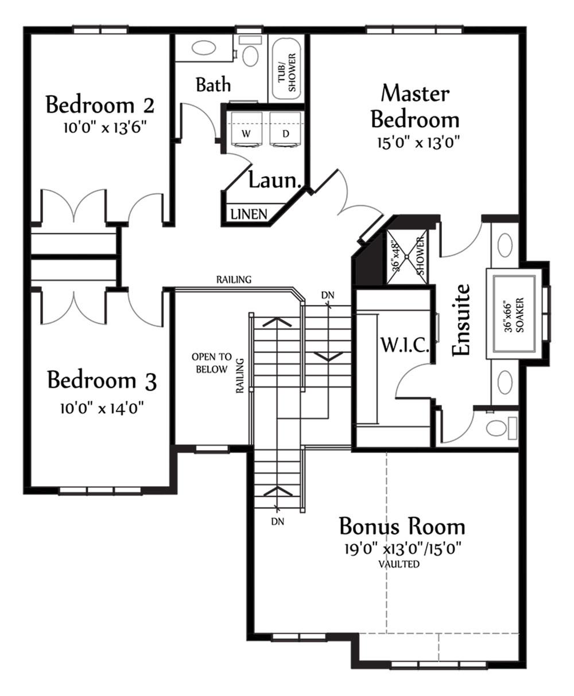 Nicholas II Second Floorplan 1274