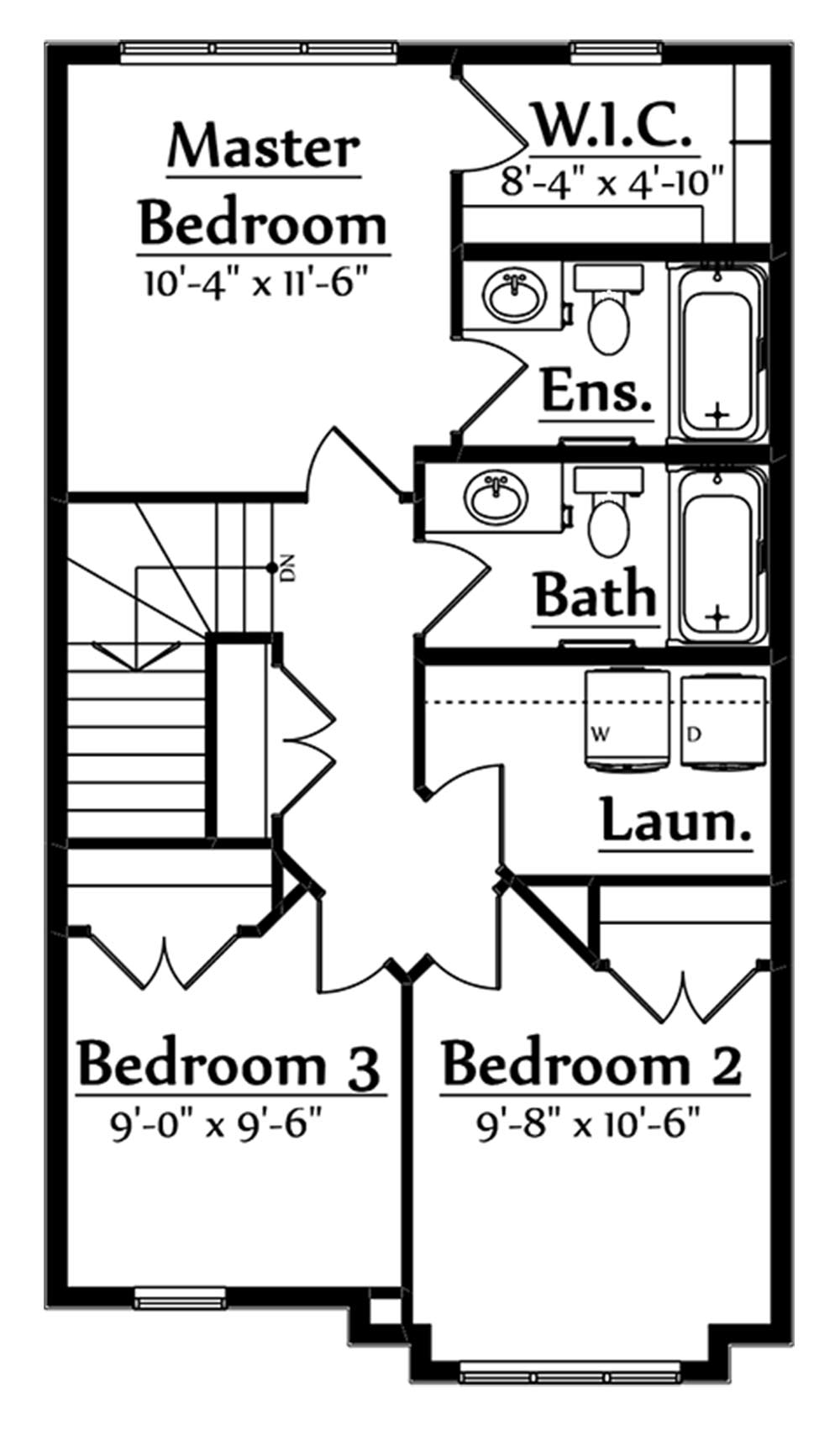Oliver Second Floorplan 661