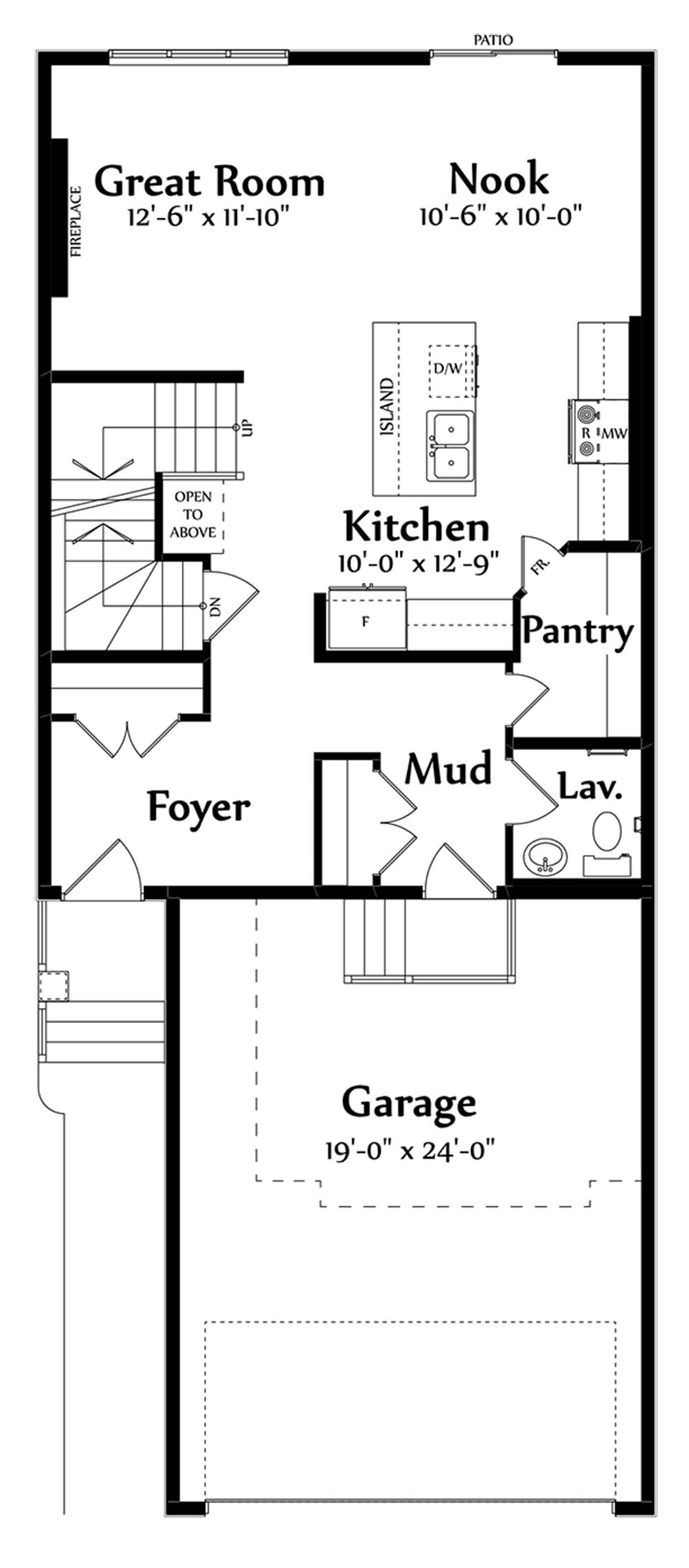 Raynon Main Floorplan 792
