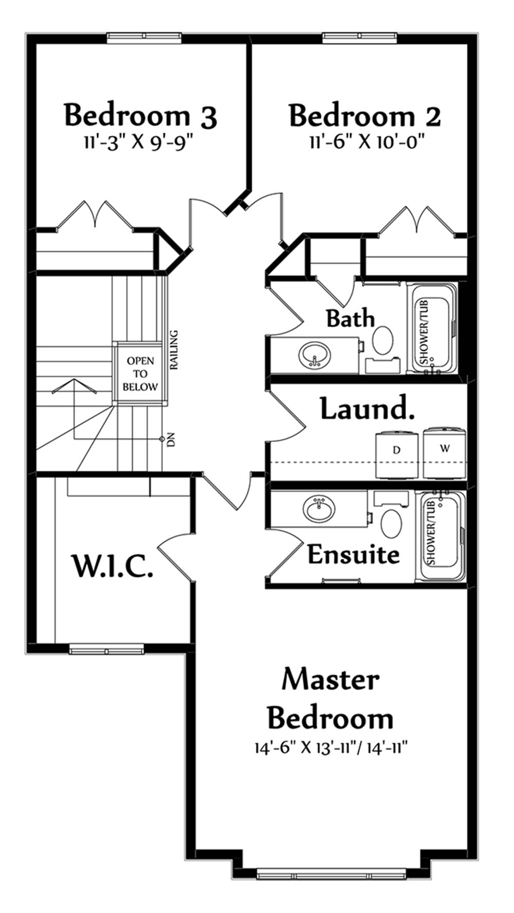 Raynon Second Floorplan 903