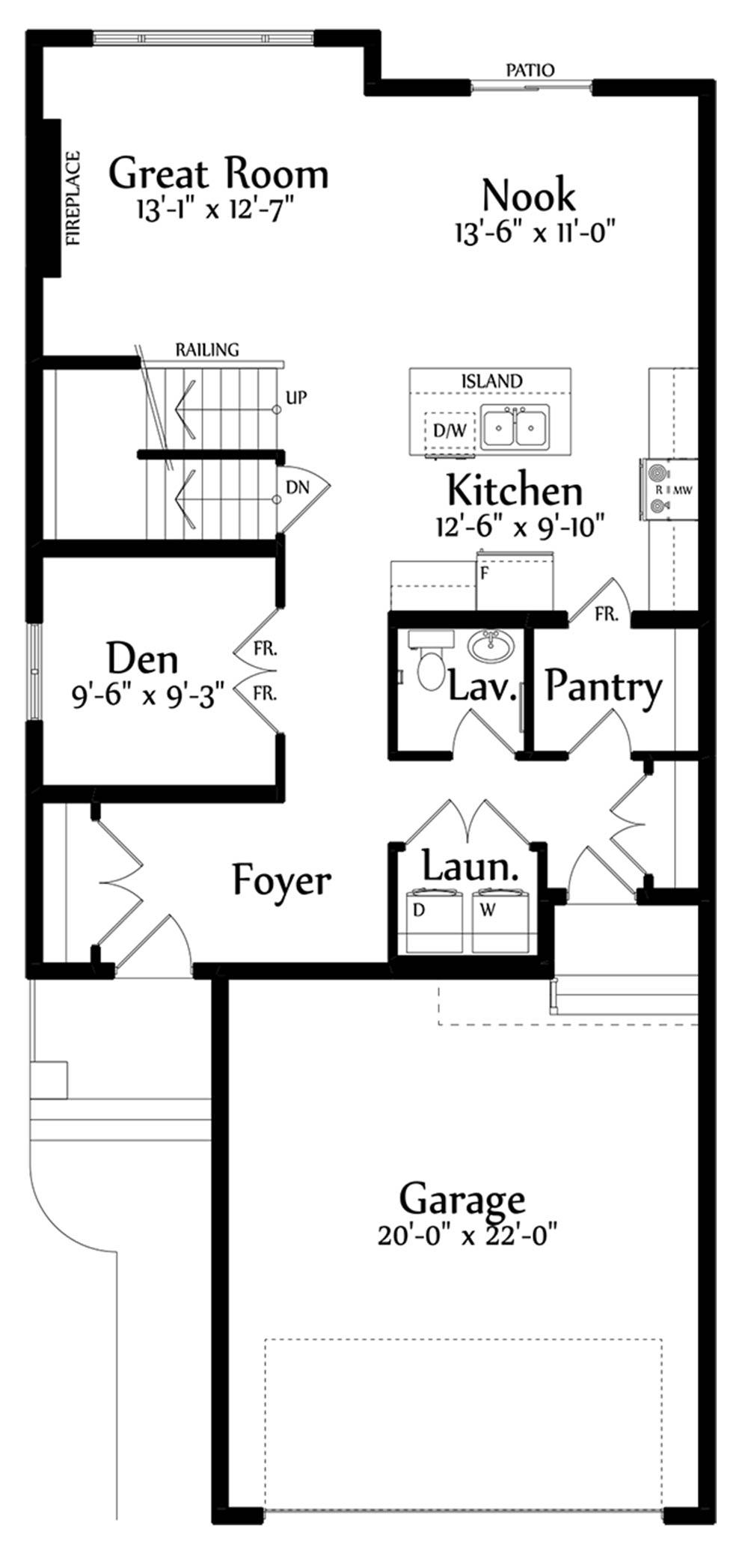 Rosaria Main Floorplan 1009