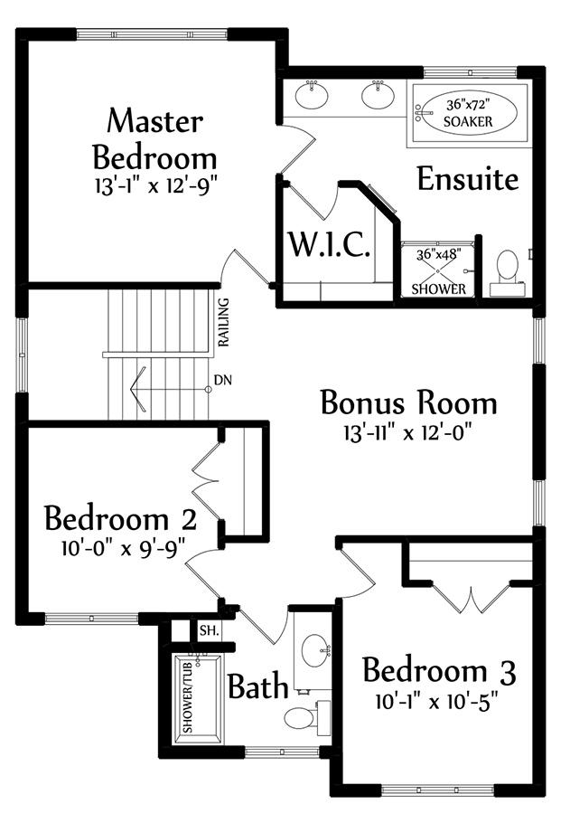 Rosaria Second Floorplan 919