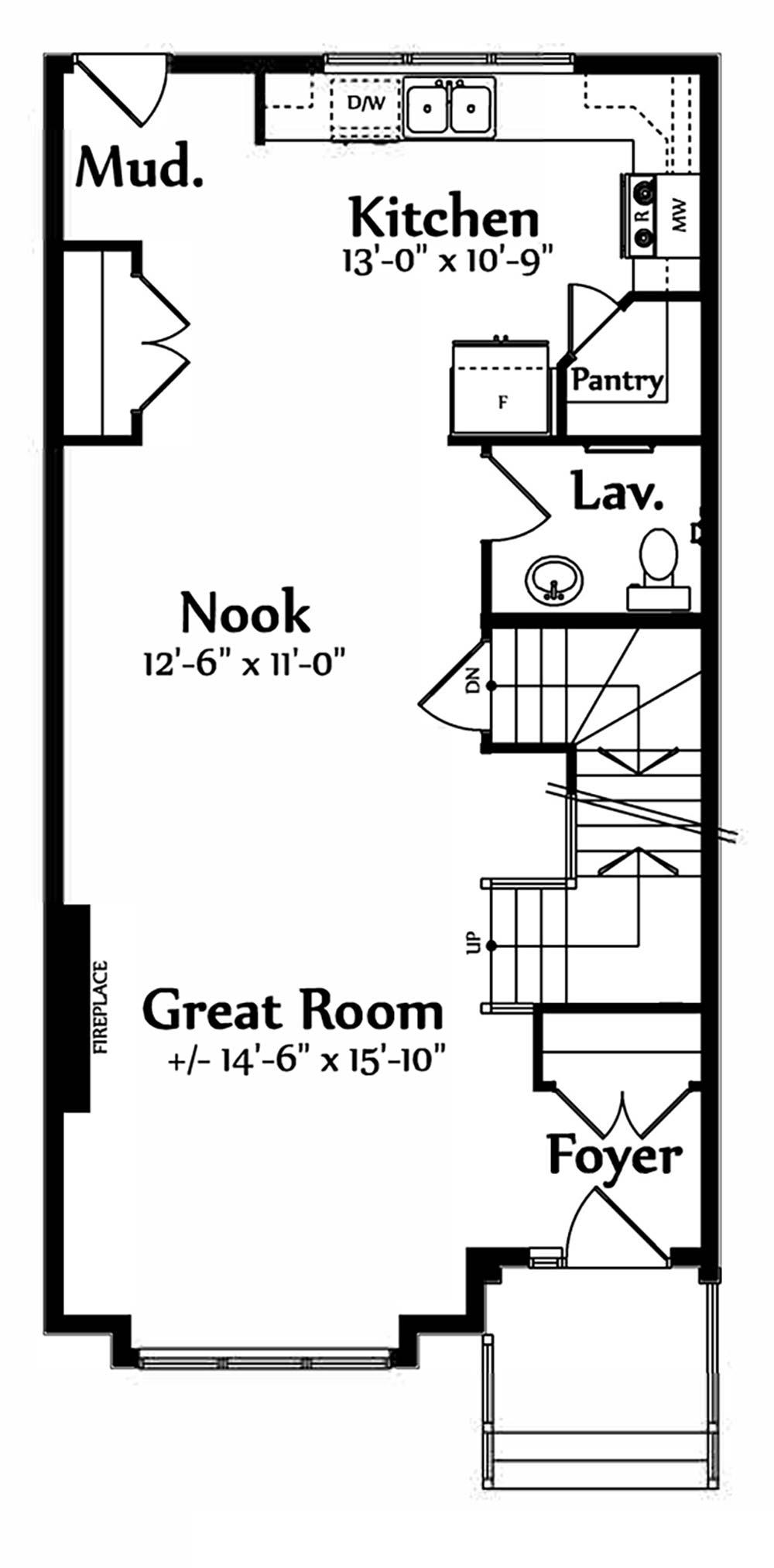 Sophia Main Floorplan 755