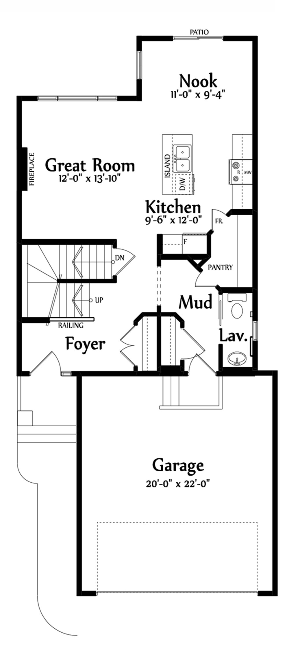 Taylor Main Floorplan 754