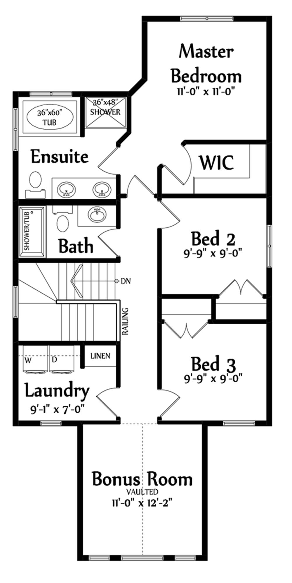 Taylor Second Floorplan 909