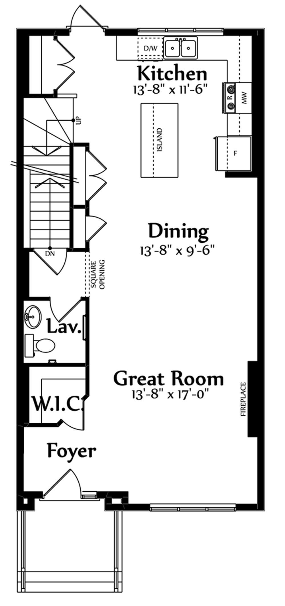 Trinity Main Floorplan 772