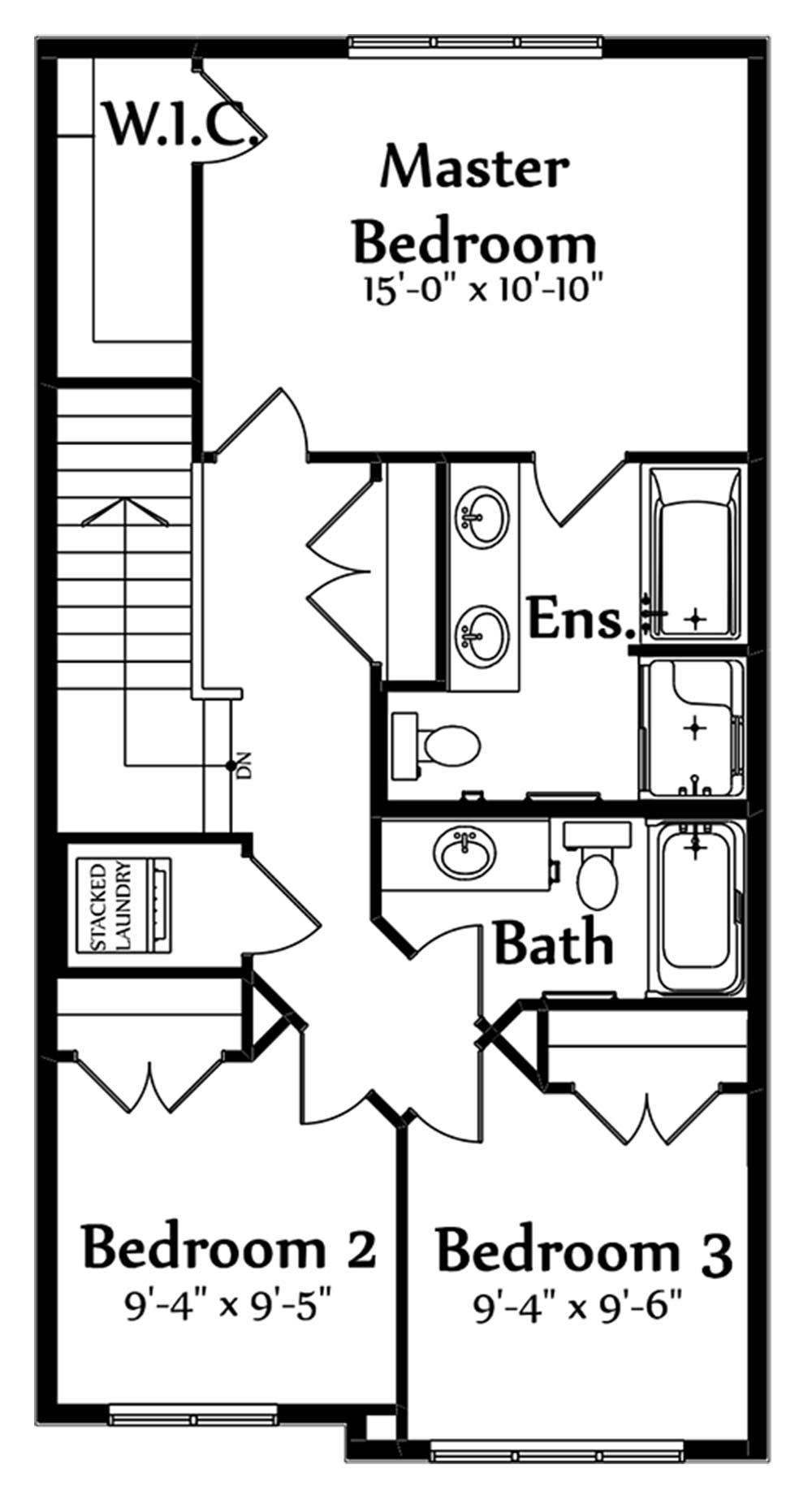Trinity Second Floorplan 726