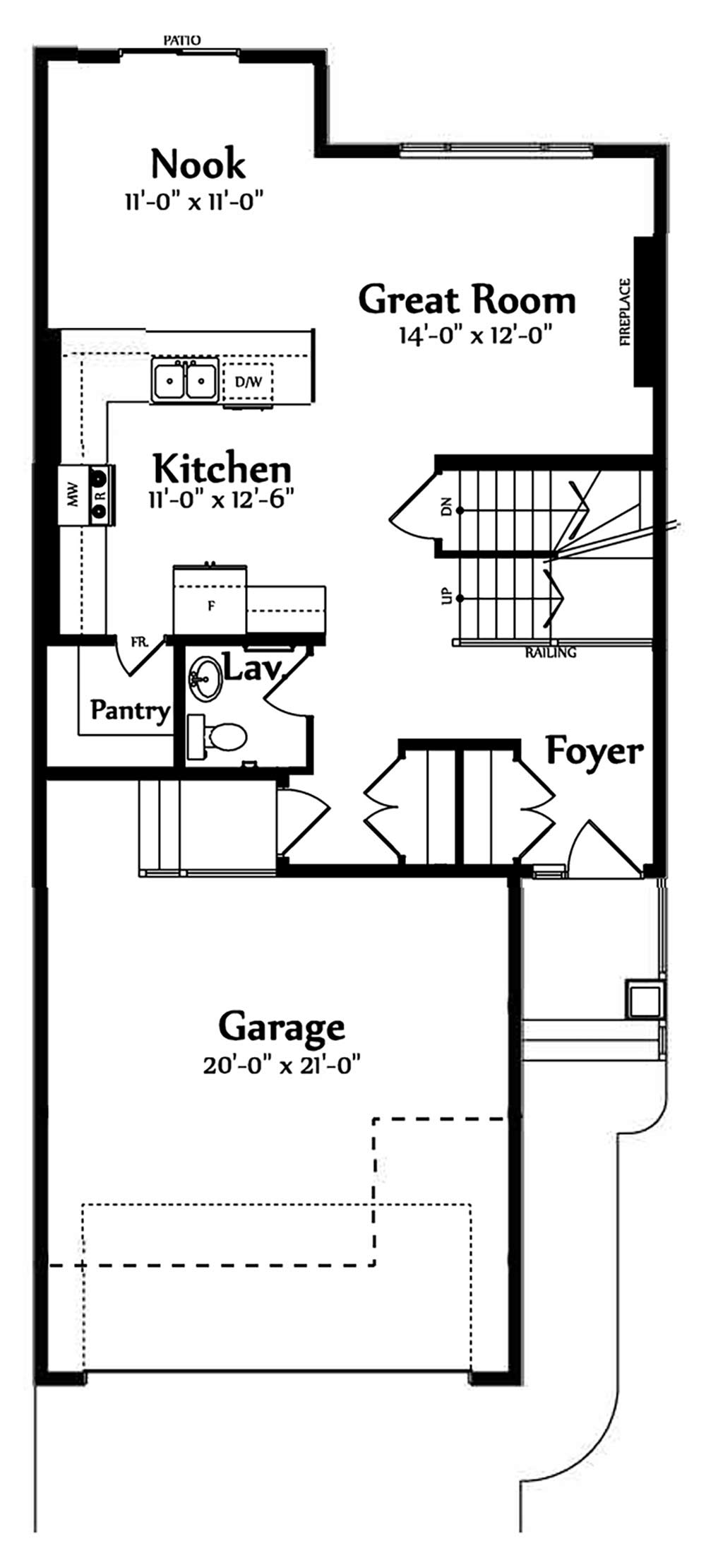 Valentina Main Floorplan 788