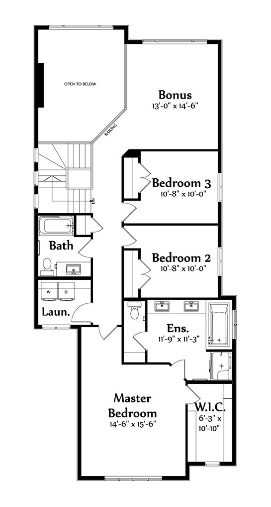 Joseph 2 Second Floorplan