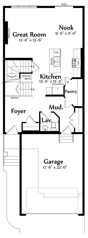 Georgia B Main Floorplan