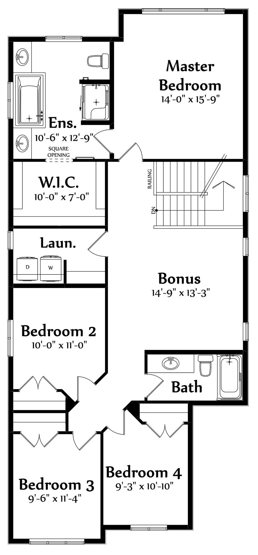 Isaiah Second Floorplan