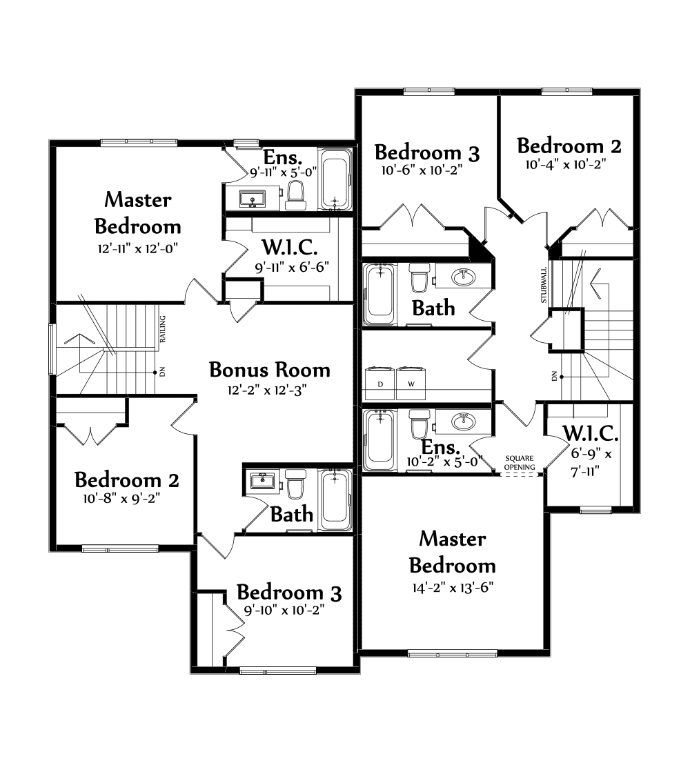 LucasEmmersonC upper floorplan 837 838