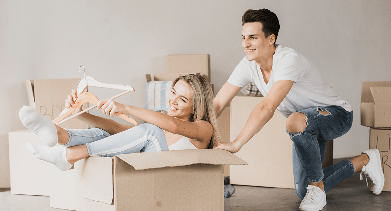 reasons first home should be new construction couple image min