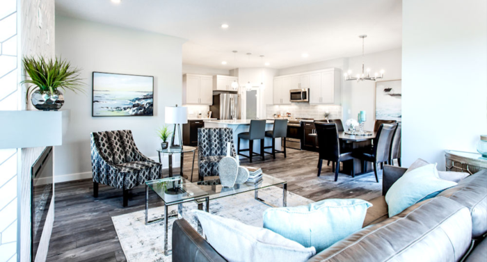 newly built vs previously owned homes pros cons newly built living room image