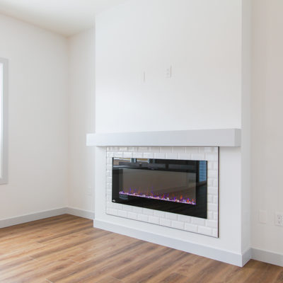 Bianca fireplace