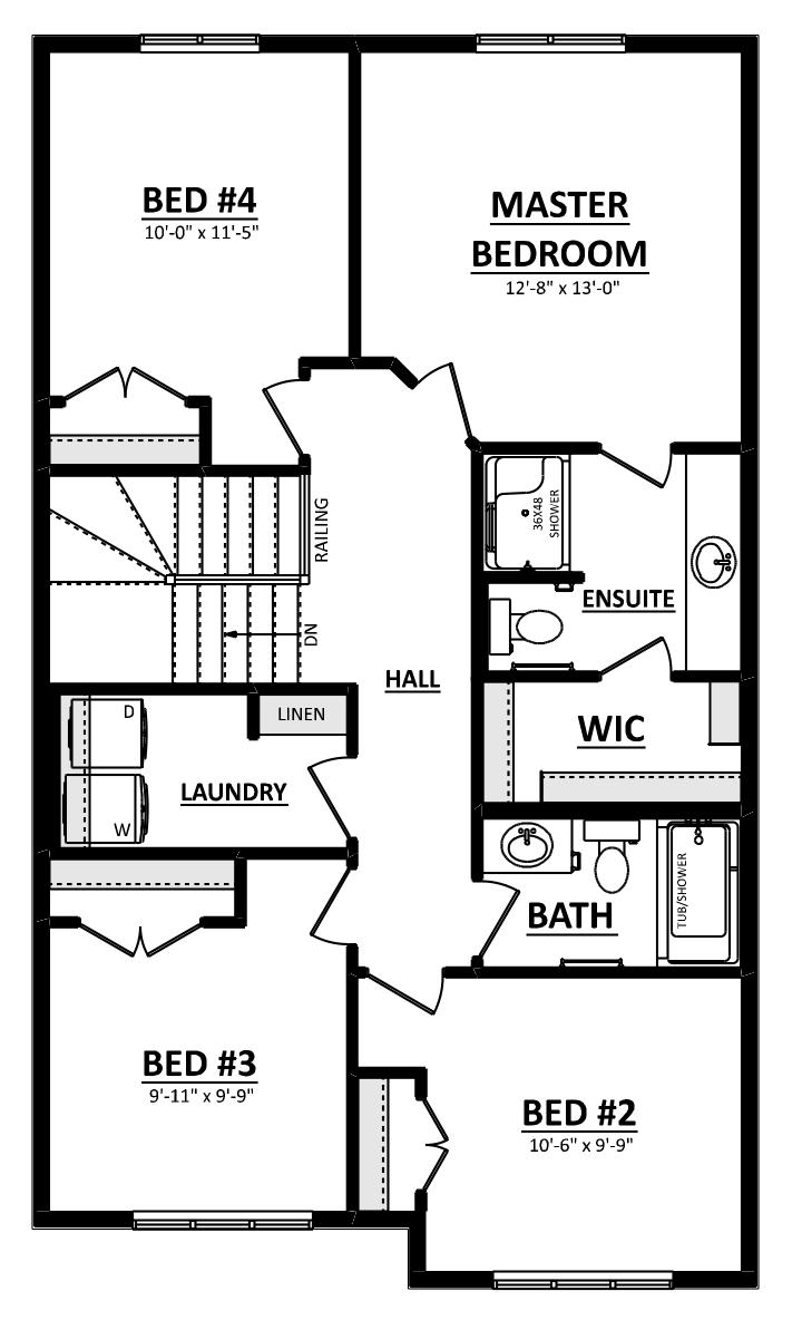 Keen Second Floor 4 Bedroom Image