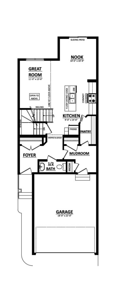 Paxton main floor