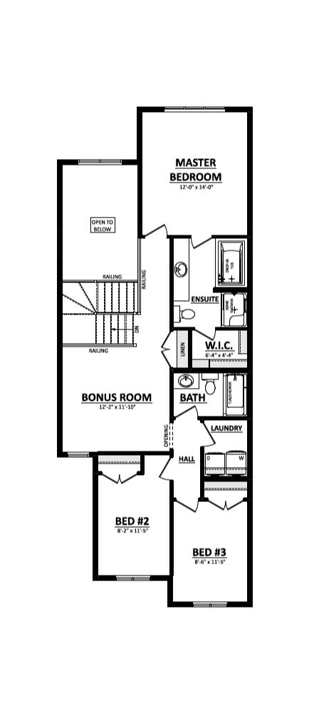 Paxton second floor